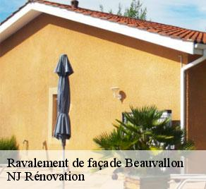 Ravalement de façade  beauvallon-26800 NJ Rénovation